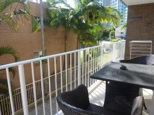 A balcony or terrace at Jadran Motel & El Jays Holiday Lodge