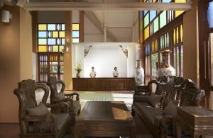 The lobby or reception area at Sabai Sabai Sukhothai