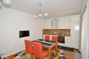 Kuchnia lub aneks kuchenny w obiekcie Apartman Mozartova