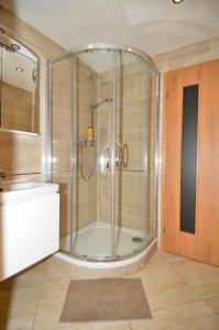 Łazienka w obiekcie Apartman Mozartova