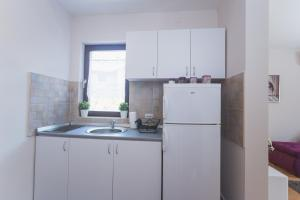 Kuhinja ili čajna kuhinja u objektu Guest House SokoDream