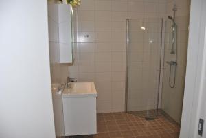 Ett badrum på Sjöhuset