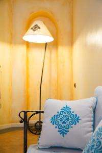 Letto o letti in una camera di Hotel Poseidonia