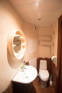 Ванная комната в Apartment on Dorozhnaya