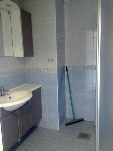 Kylpyhuone majoituspaikassa Hotel Reima Country Center