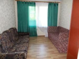 Гостиная зона в Апартаменты «Ирис»