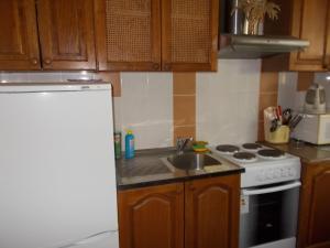 Кухня или мини-кухня в Апартаменты «Ирис»