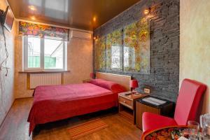 Кровать или кровати в номере Гостиница Русское Подворье