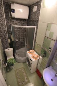 A bathroom at Zadar Center Apartment