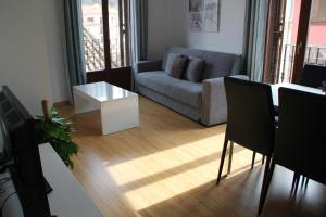 Zona de estar de Apartamentos San Lázaro