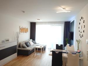Posezení v ubytování Good Vienna Apartment