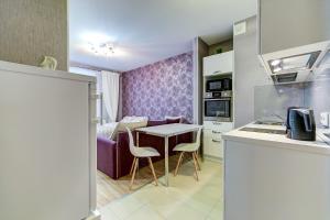 Кухня или мини-кухня в Modern studio