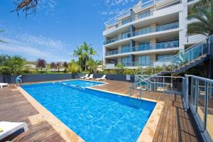 The swimming pool at or near 'Cote D Azur' luxury in the heart on Nelson Bay!