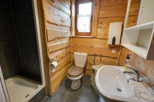 Łazienka w obiekcie U lawendowej wiedźmy