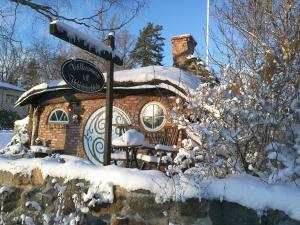 Hobbit Stockholm during the winter