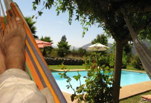 Vista de la piscina de Mapuyampay Lodge Gastronómico o alrededores