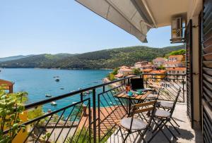 A balcony or terrace at Katarina