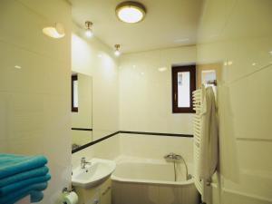 Łazienka w obiekcie Apartament w Pieninach