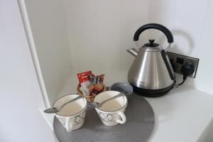 Coffee and tea-making facilities at Seascape B&B