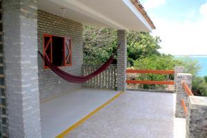 Uma varanda ou terraço em Chalemar Hotel Pousada