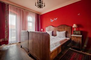 Łóżko lub łóżka w pokoju w obiekcie Gościniec na Półwyspie