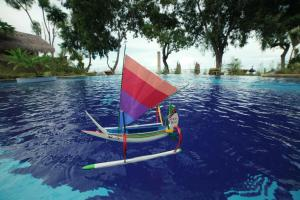 Windsurfing at the resort village or nearby
