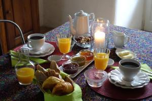 Options de petit-déjeuner proposées aux clients de l'établissement Residence Crone