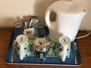 Coffee and tea-making facilities at Chad Hill Hotel