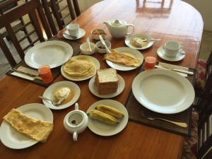 Завтрак для гостей Hotel Tobiko