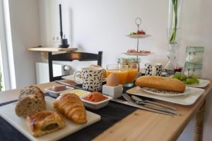 Ontbijt beschikbaar voor gasten van 't Rheebokje