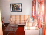 Ein Sitzbereich in der Unterkunft Hotel Gasthof Haas