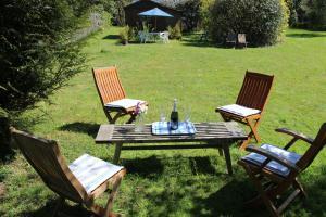 A garden outside Maison Mimosa