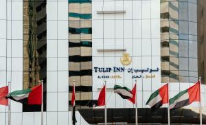 The floor plan of Tulip Inn Al Khan Hotel