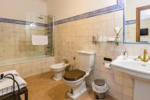 A bathroom at Hospedería Convento de Santa Clara