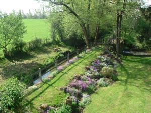 A garden outside Le Moulin Fargan