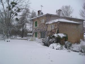 Le Moulin Fargan during the winter