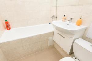 "A bathroom at ""SelimVseh"" at Universitetskiy"