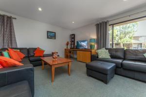 A seating area at Condo 105 @ Horizons Golf Resort - Salamander Bay NSW