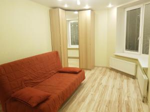 Гостиная зона в Apartment on Lunacharskogo