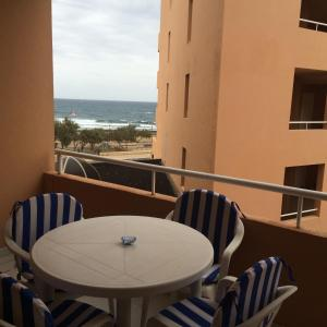 A balcony or terrace at Apartment Marineda Seaview