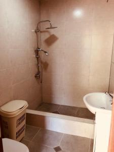 Ванная комната в Guest house Stalin
