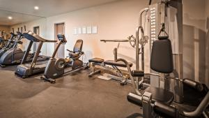 The fitness center and/or fitness facilities at Best Western Beachside Inn