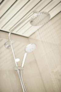 A bathroom at Leopold Hotel Brussels EU