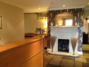 The lobby or reception area at Millhouse Hotel And Riverside Restaurant