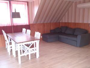 A seating area at Järvesilma Tourism Farm