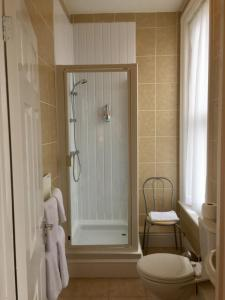 A bathroom at Balmoral