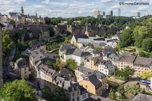 Blick auf The Queen Luxury Apartments - Villa Liberty aus der Vogelperspektive