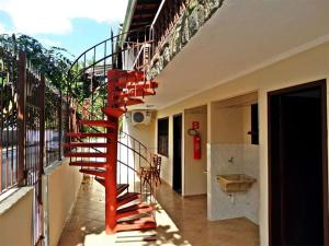 A balcony or terrace at Pousada Manobra