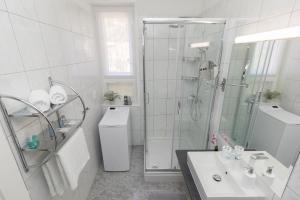 A bathroom at Deluxe suite Navis
