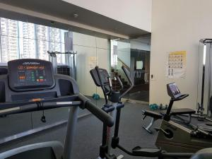 The fitness center and/or fitness facilities at Bright. Comfortable. Home